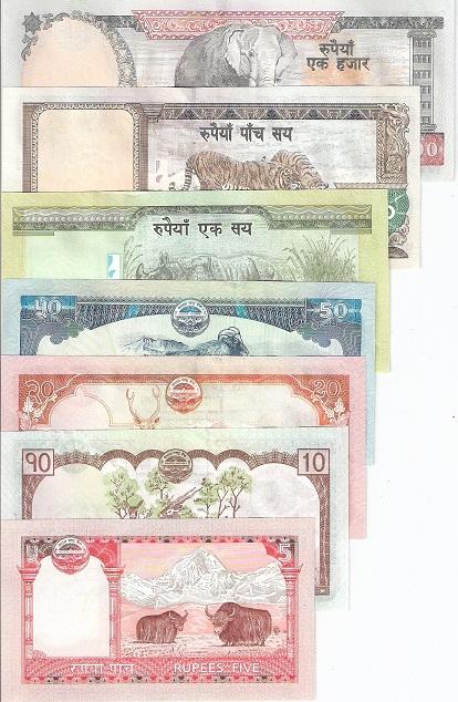 Rupee Note Denominations Denomination 5 1,000 Rupees
