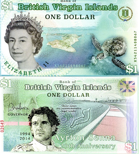currency British virgin island