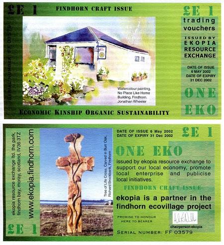 UK Britain Scotland Ekopia 1 Eko 2017 UNC Local Currency Banknote 5th Issue
