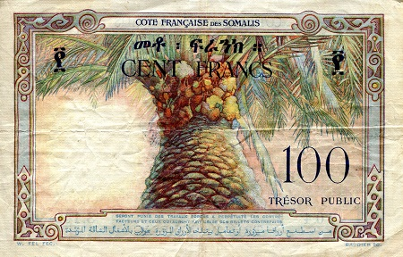 100 Francs  F/VG (see scan) Banknote