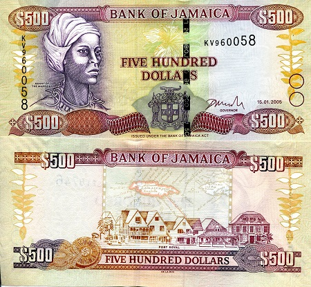 JAMAICA 50 Dollars Banknote World Paper Money Currency Pick p-89 Commemorative