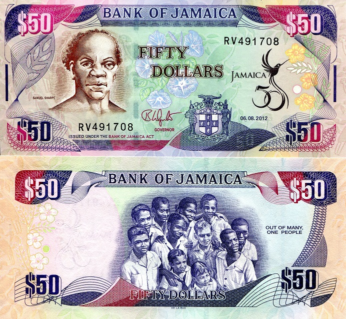 50 Unc Country Jamaica Denomination Dollar Price 4 99