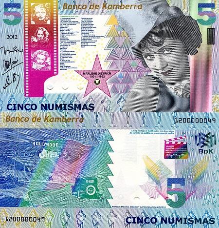 2018 5 Numismas Kamberra Kingdom UNC /> Jules Verne