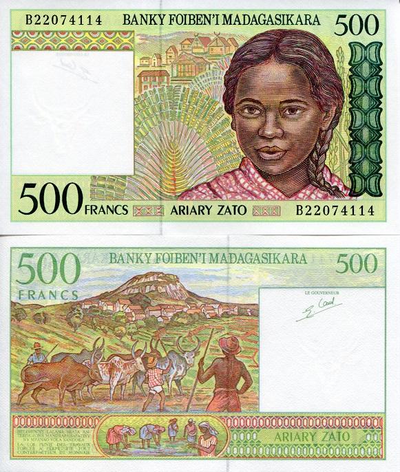 Madagascar 10000 Ariary 10,000 2006 P-92a Unc
