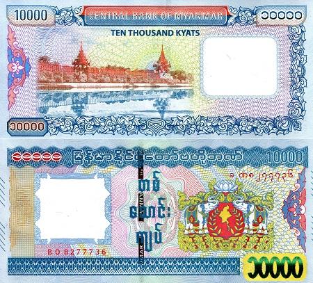 MMK Myanmar Kyat OANDA