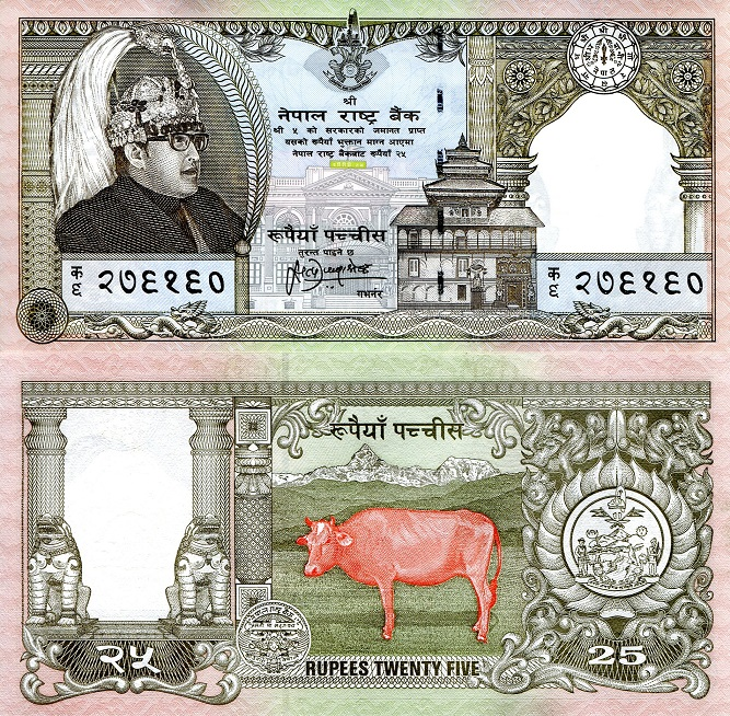 ND UNC Nepal 100 Rupees Banknote P-64 Asia Paper Money 2008