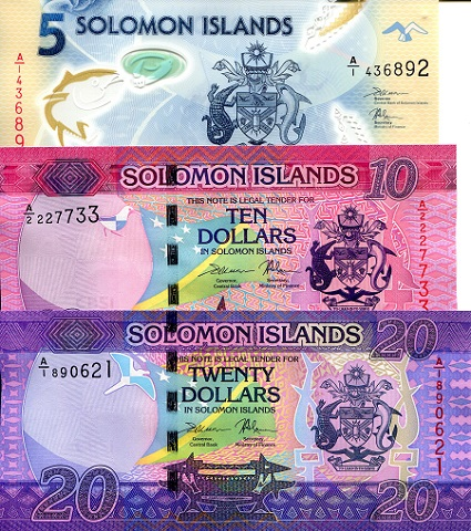 2017 P-35b UNC SOLOMON ISLANDS 50 DOLLARS ND